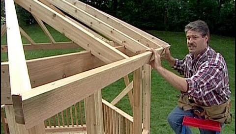 Ako postavit altanok navod